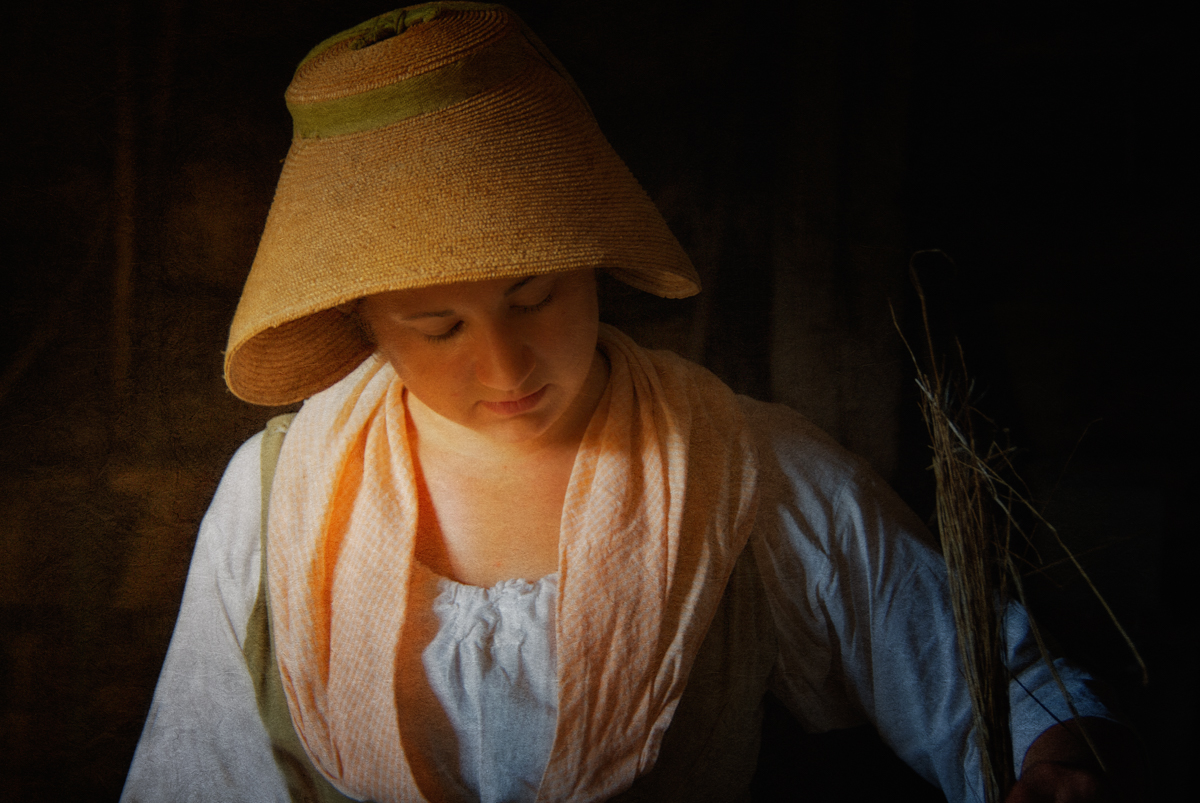 The flax maiden from Haunted Travels in the Hudson River Valley of Washington Irving