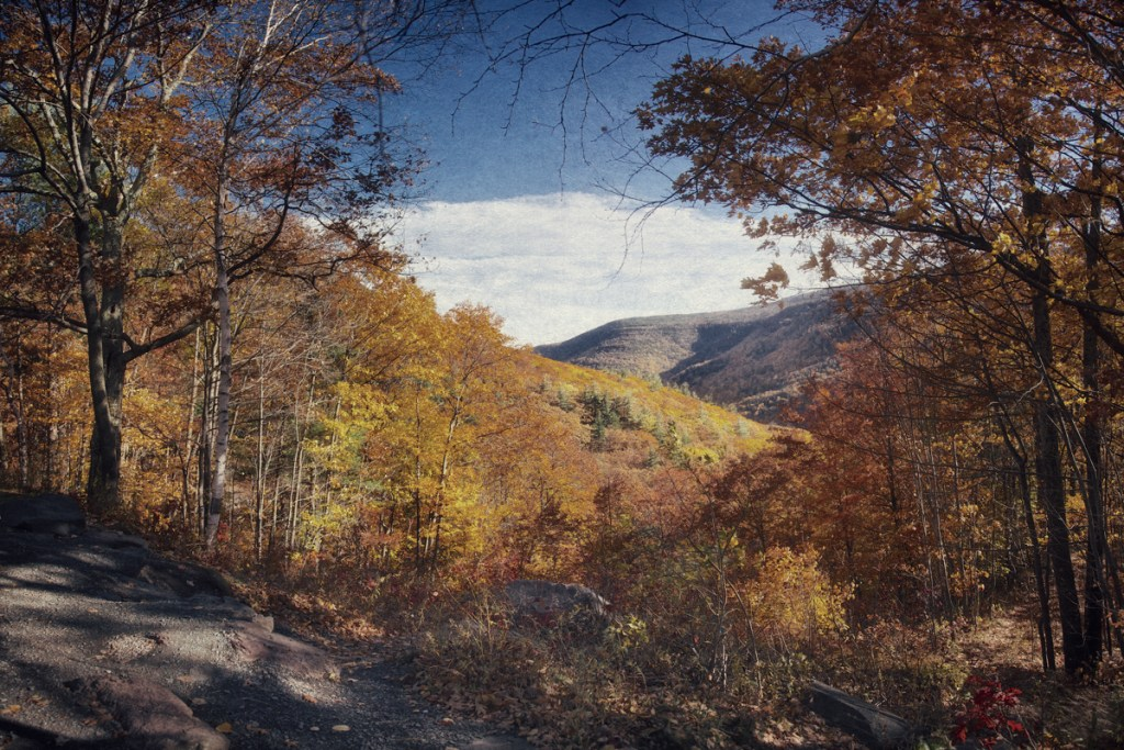 View from Rip's Lookout Point in the Catskills from Haunted Travels in the Hudson River Valley of Washington Irving
