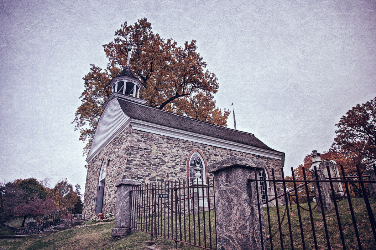 The Old Dutch Church of Sleepy Hollow from Haunted Travels in the Hudson River Valley of Washington Irving