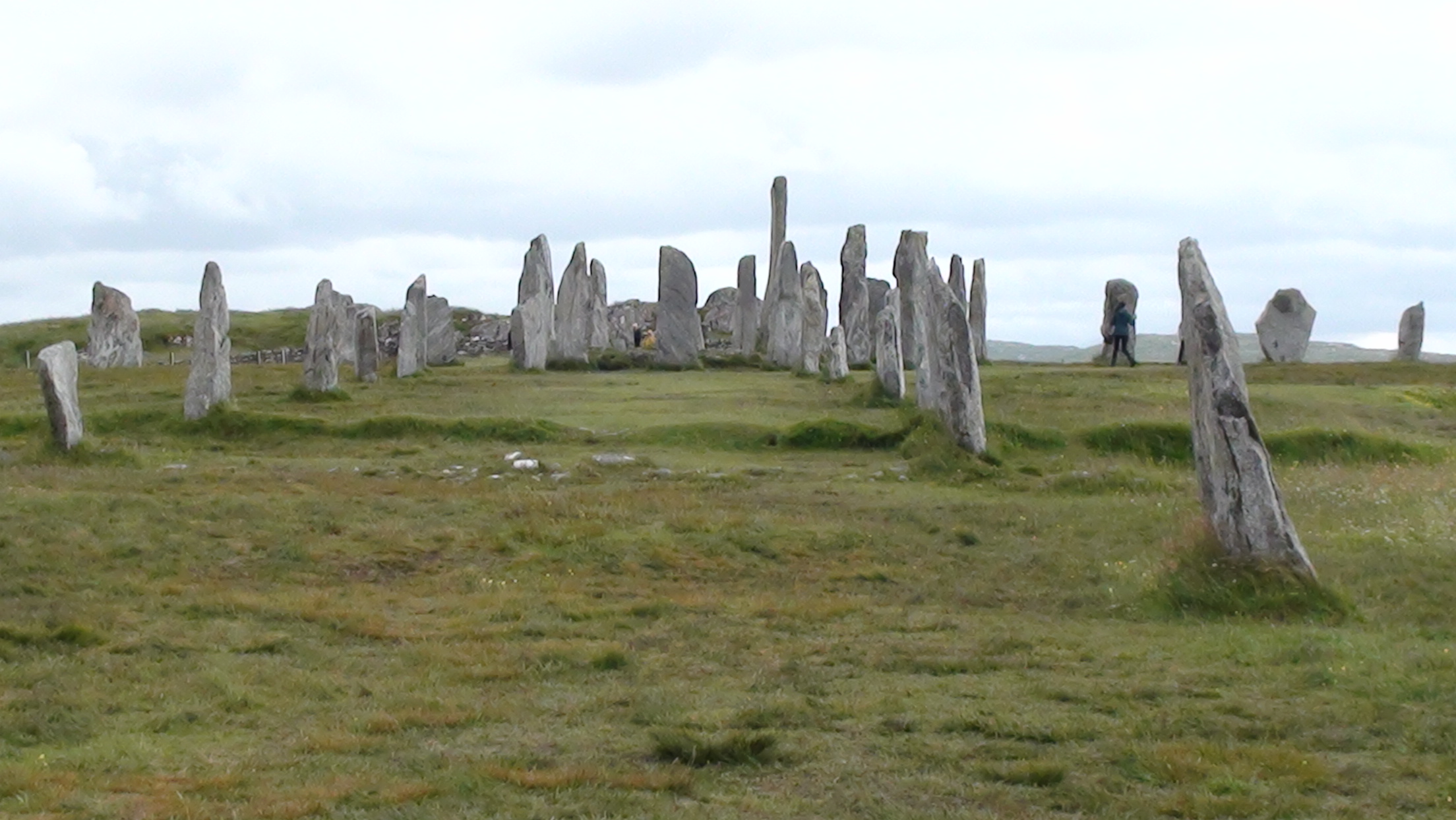 The Callanish Stones on the Isle of Lewis
