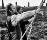 Guests on tour of sacred sites in Scotland