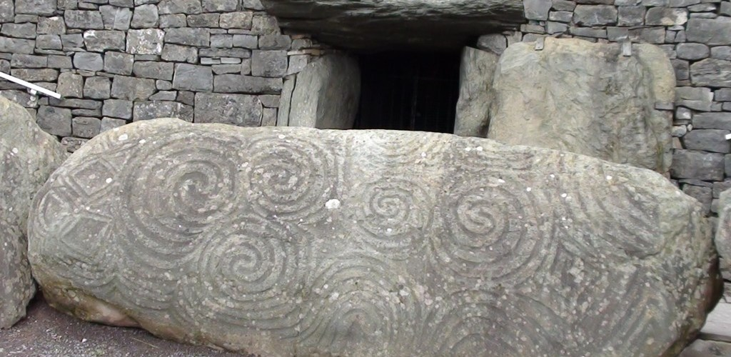 Newgrange on a sacred site tour of Ireland