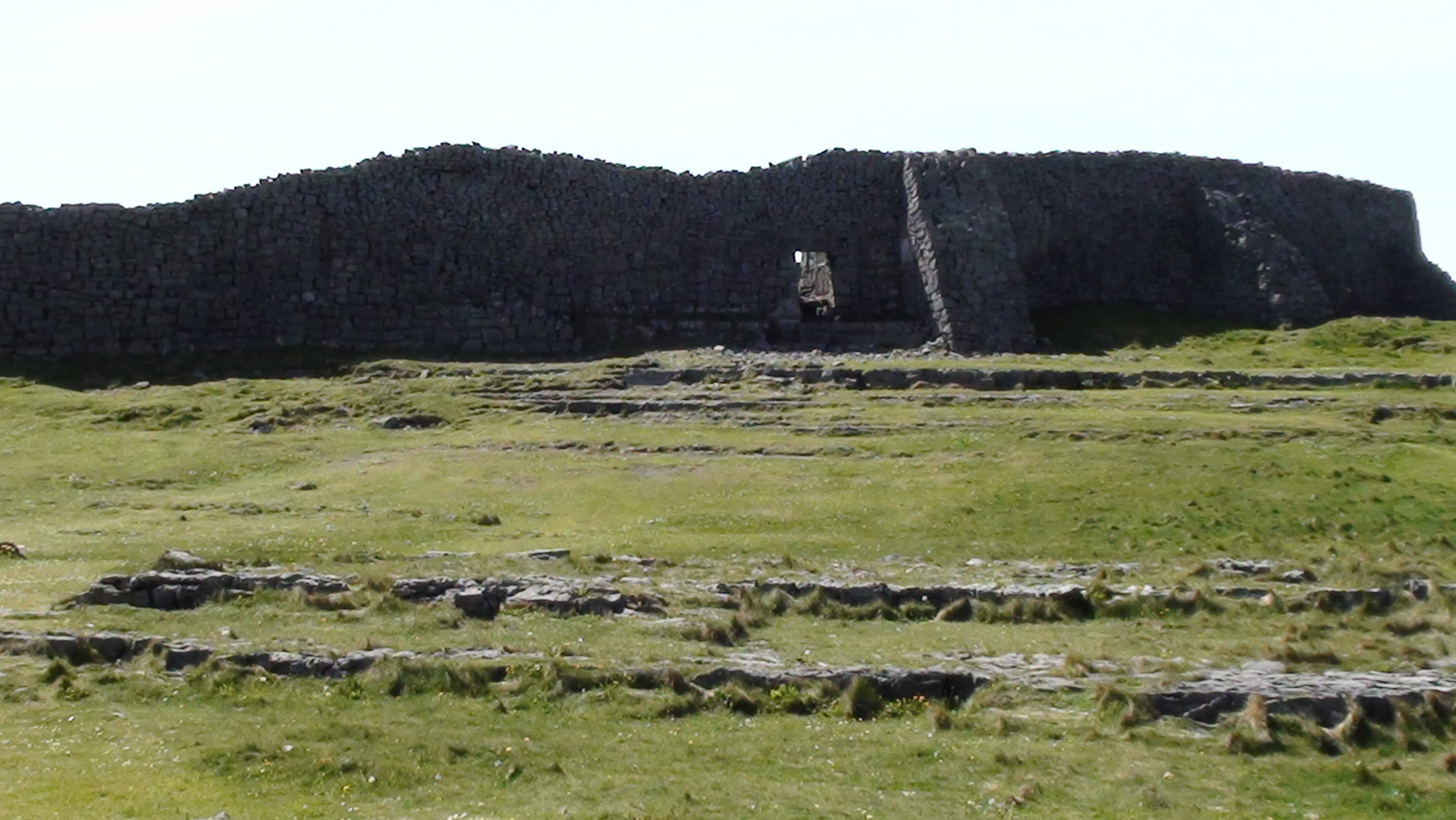 Stone fort of Dun Aengus on Inishmore