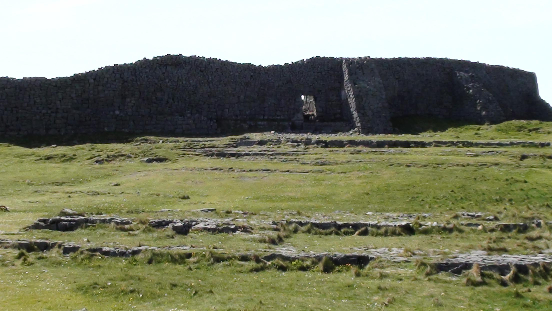 Stone fort of Dun Aengus on Inishmore