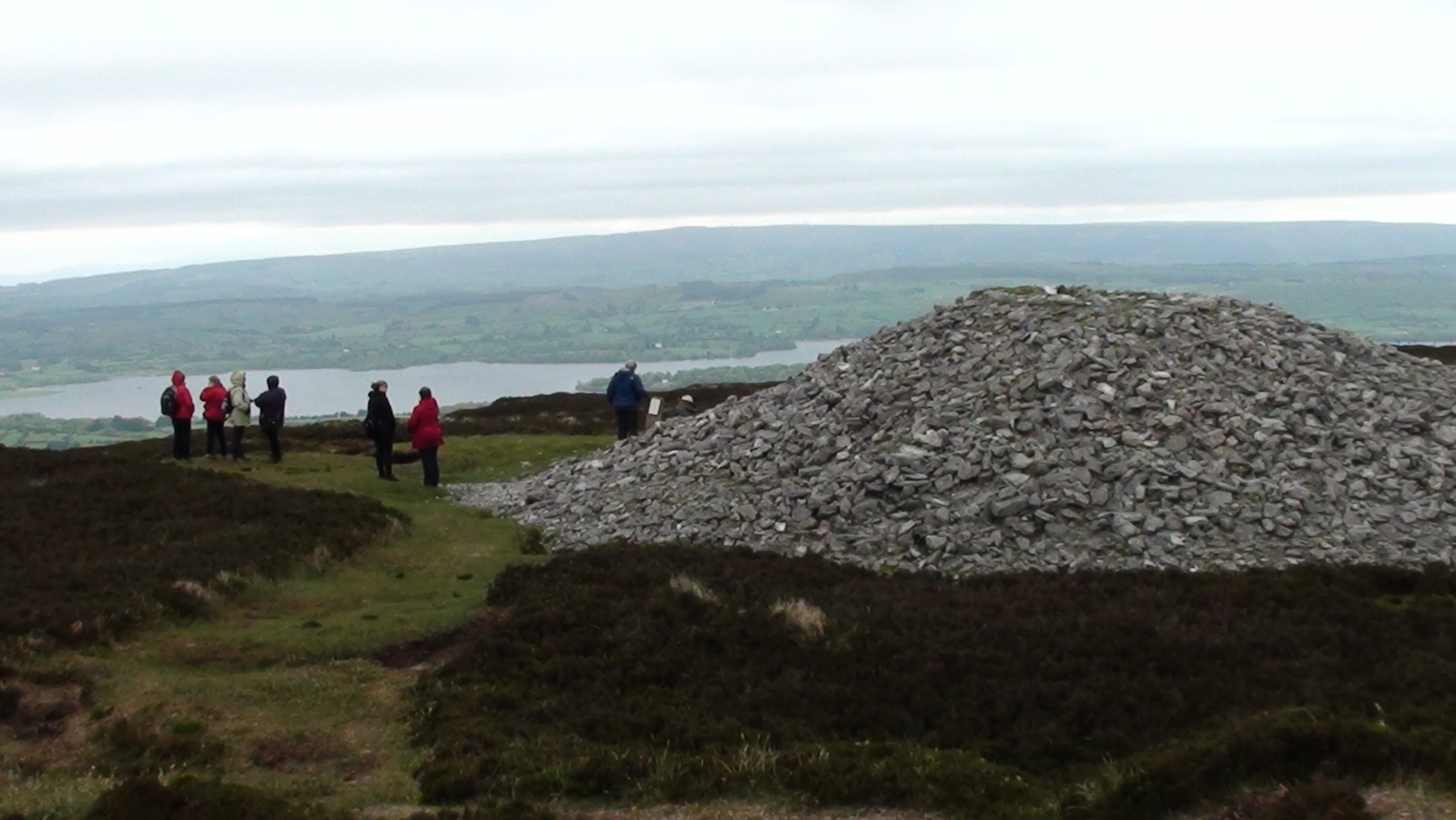 Neolithic site of Carrowkeel in the Bricklieve Mountains