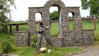 St Brigit's well on a soul journey in Ireland