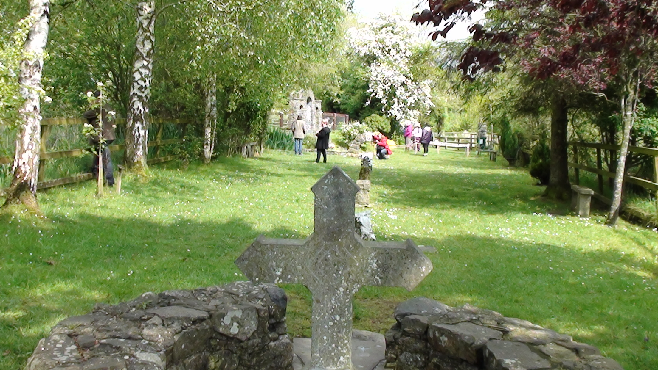 Saint Brigid's Well near Kildare