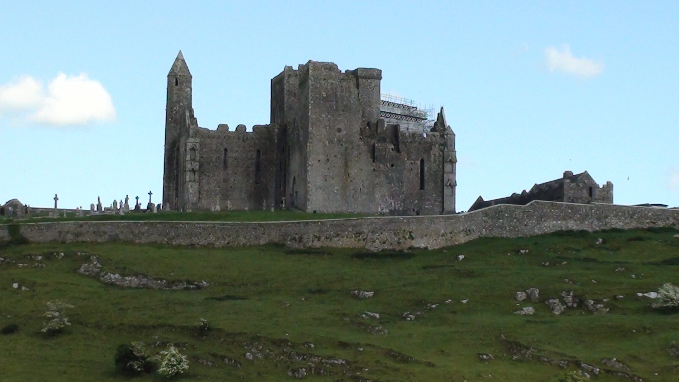 Rock of Cashel in County Tipperary
