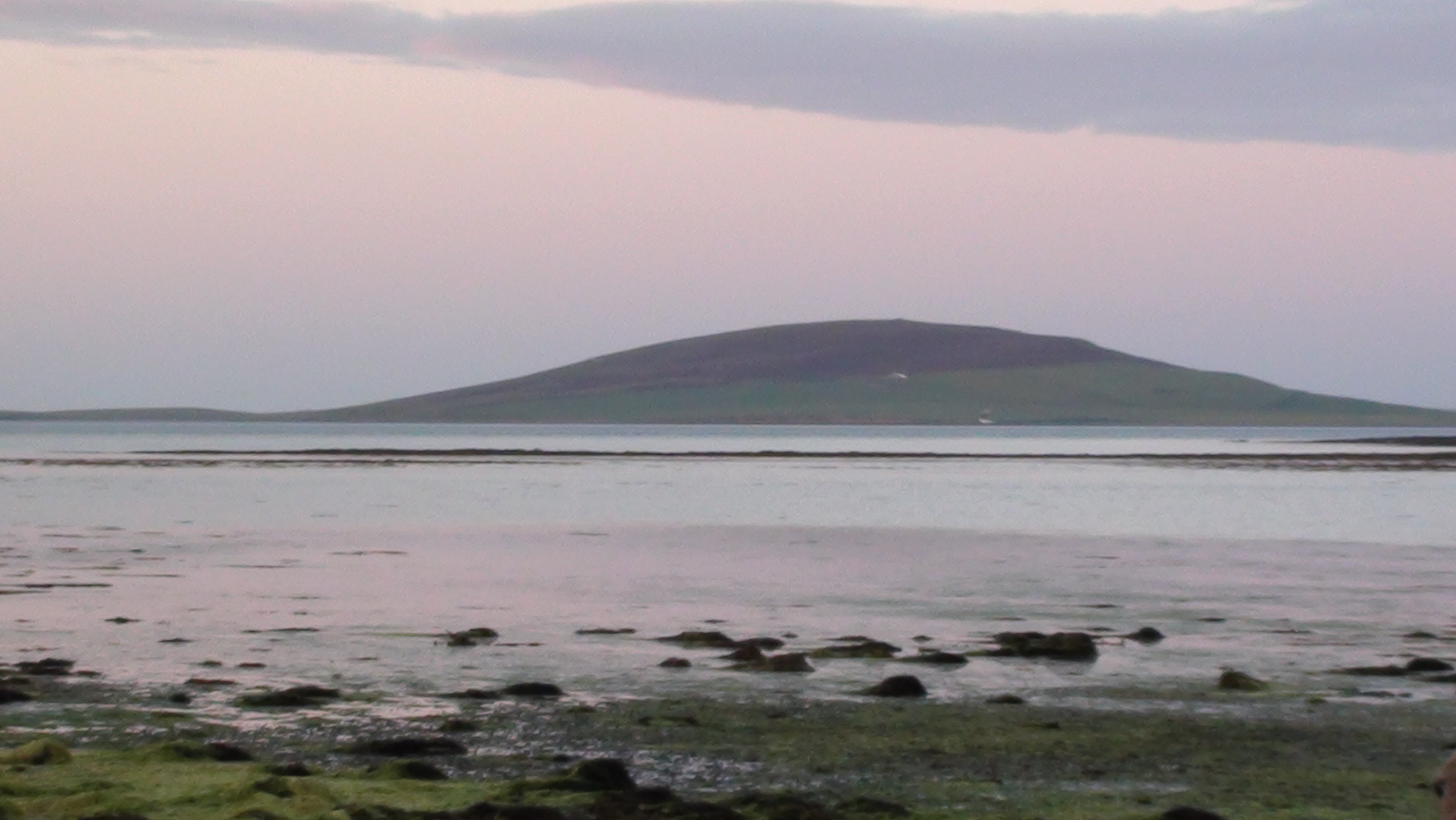 Sunset on Orkney.