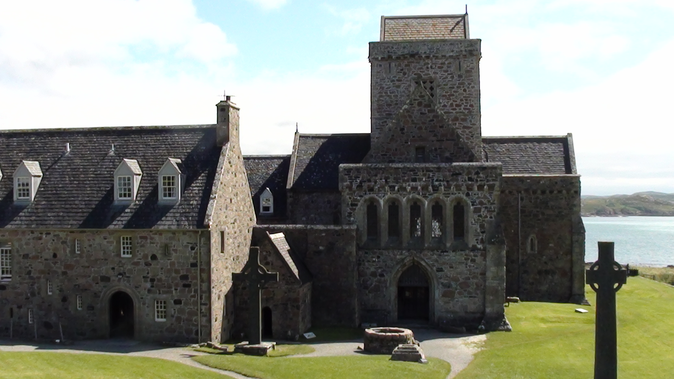 The Abbey on Iona.