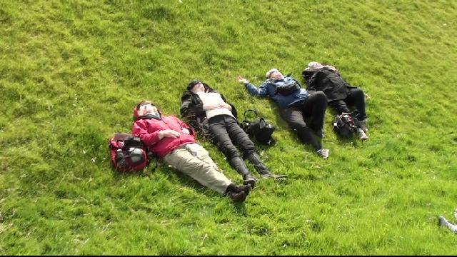 Taking it easy on the hill of Tara