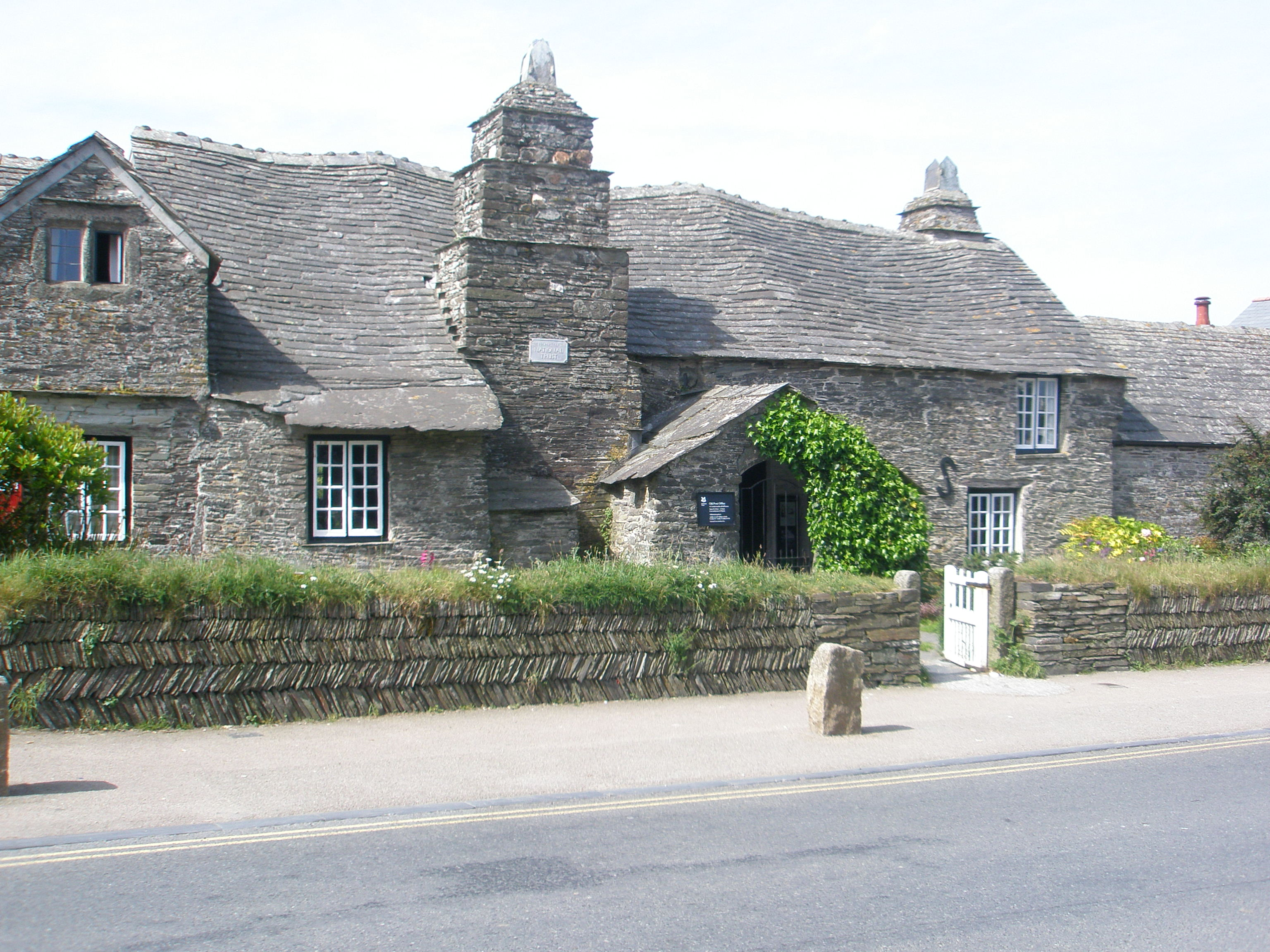 Old Post Office building in Tintagel