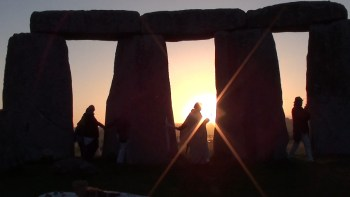 Stonehenge tour during soul journey in England