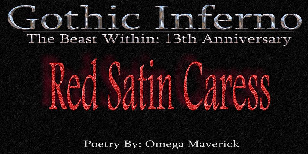Post image for Dark Poem ~ Red Satin Caress