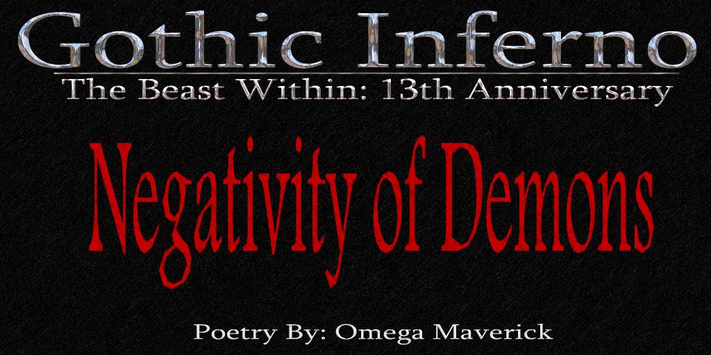 Post image for Dark Poem ~ Negativity of Demons