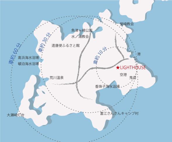 五島案内図