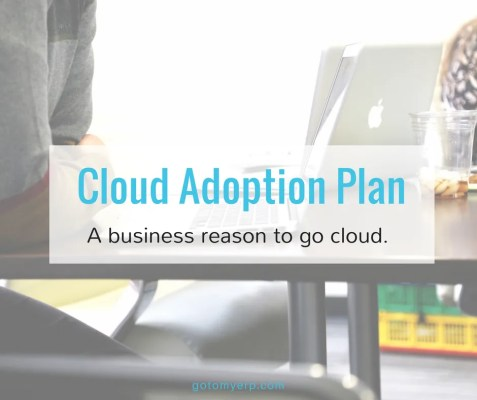 gotomyerp cloud adoption plan