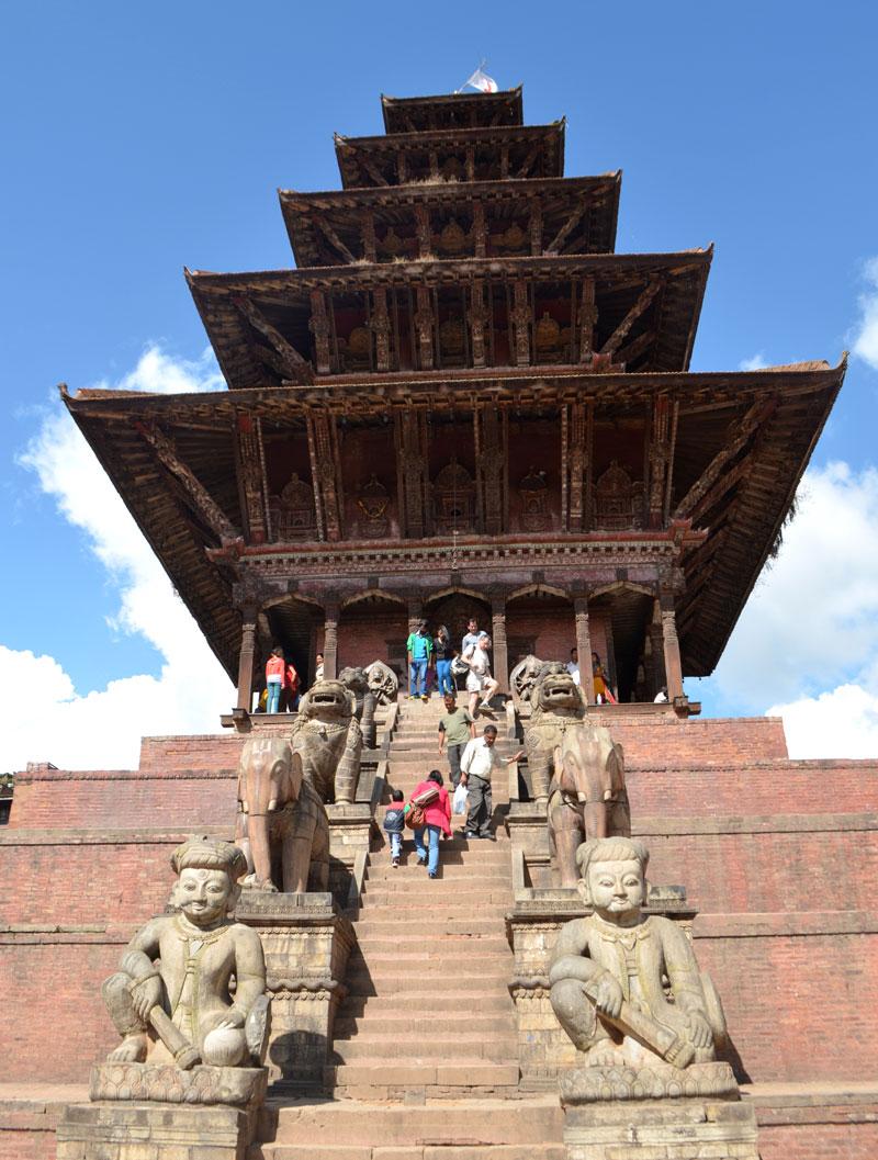 Nyatapola Temple, Bhaktapur Durbar Square