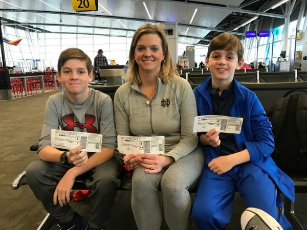 Southwest check-in tips for families