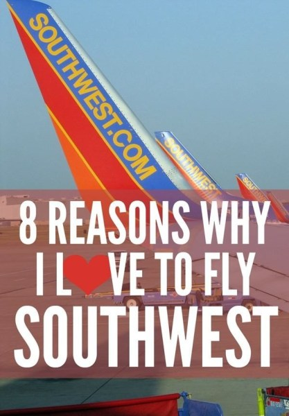 8 Reasons to Fly Southwest Airlines via @gotoTravelGal