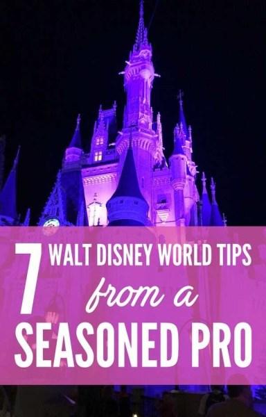 7 Walt Disney World Tips from a Seasoned Pro via @GotoTravelGal