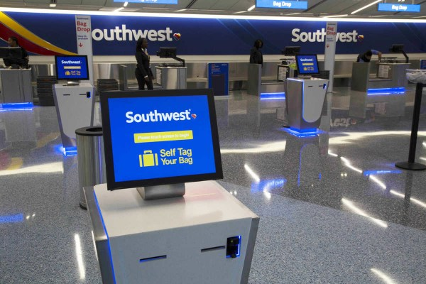 Southwest Gate Check In