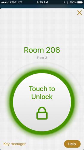 Hilton Honors app