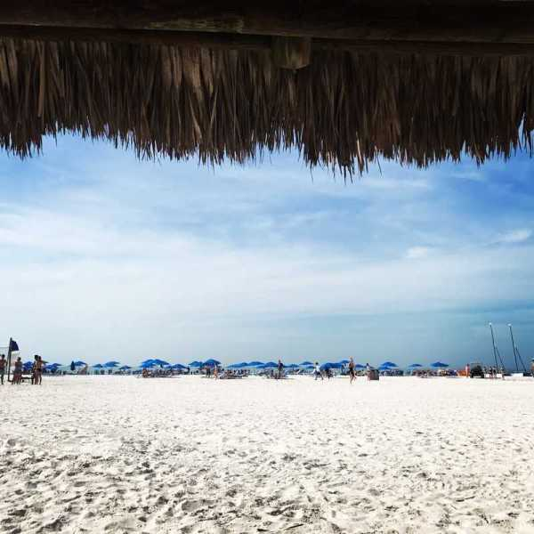 Marco Island Beach Chickee Hut