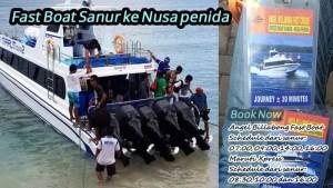 Tiket Boat Sanur ke Nusa Penida