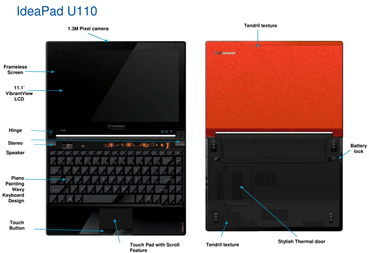 Lenovo IdeaPad U110