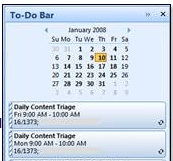 Outlook 2007 To-Do