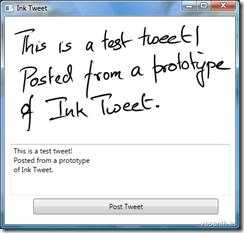 Ink Tweet