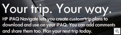 HP iPAQ Navigate Online