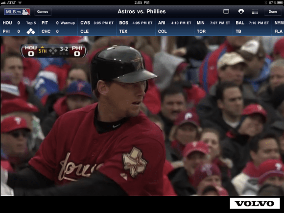 MLB At Bat 11 iPad  App