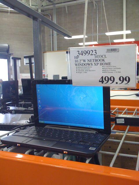HP Mini 1000 At Costco