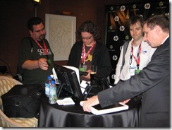 CES 2009 Tablet and Touch Community Meetup 045
