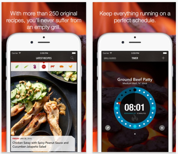 Best Grilling apps iPhone Android - 4