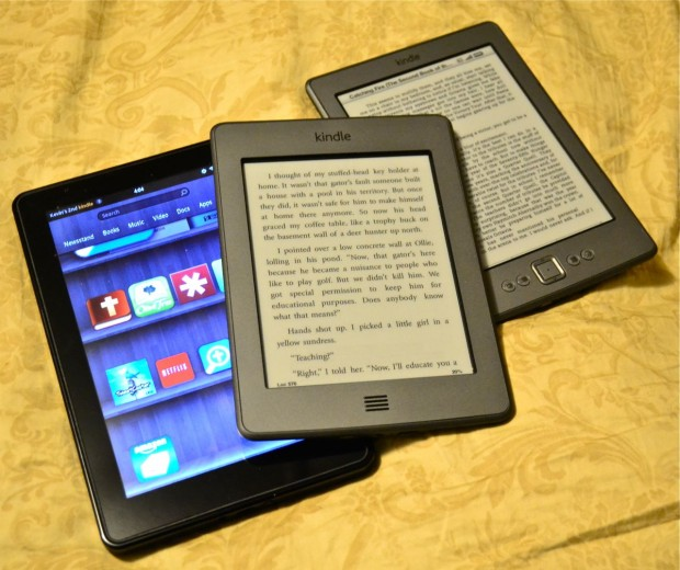 The Kindle Family of eReaders