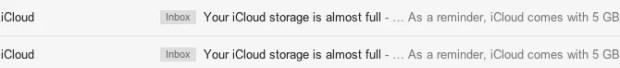 iCloud Storage Limits
