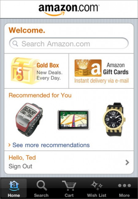 Amazon iPhone App