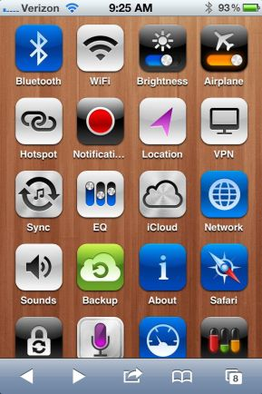 Add iPhone Settings Shortcuts No Jailbreak
