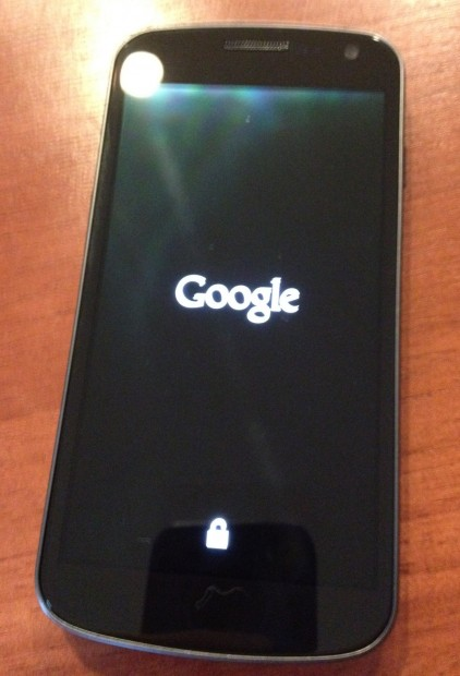 Google Screen Root the Galaxy Nexus