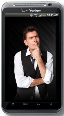 HTC ThunderBolt Ages Charlie Sheen