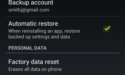 Hard Reset Galaxy Nexus