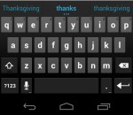 Keyboard - Ice Cream Sandwich Android 4.0