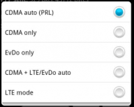 How to turn off 4G LTE