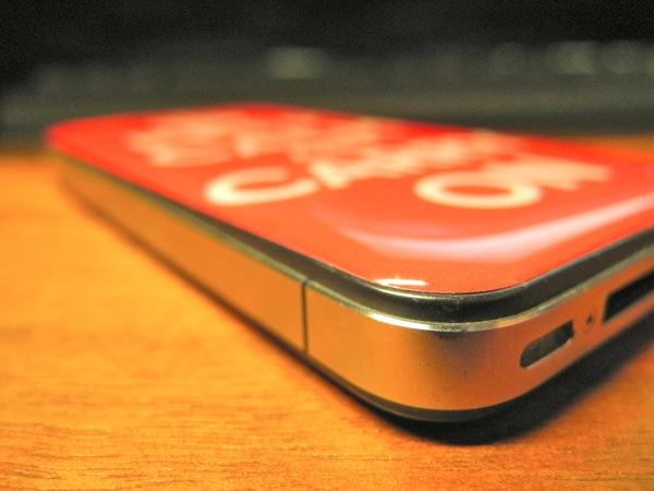 DomeSkin on iPhone 4