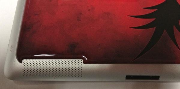 DomeSkin Cutout for iPad 2 Speaker
