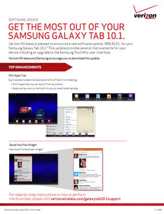 Verizon Prepping TouchWiz Software Update for LTE Samsung