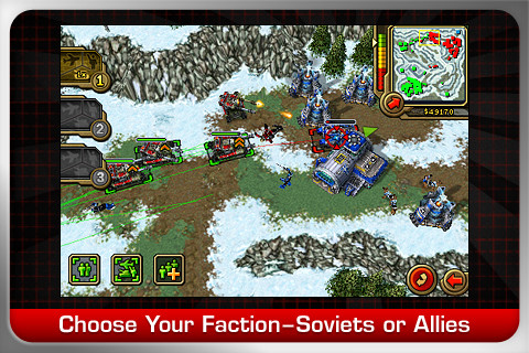 Command & Conquer Red Alert iPhone Game